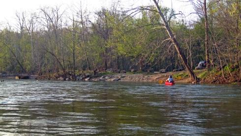 huzzah river, huzzah conservation area